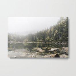 Pale lake - landscape photography Metal Print