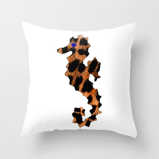 SEA LEOPARD Throw Pillow