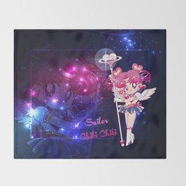 Sailor Chibi Chibi Moon Throw Blanket