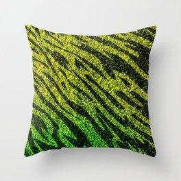 Nature Alive - Tiger Grass Animal Pattern Throw Pillow