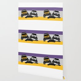 [JEEP COUPLE] yellow+white Wallpaper