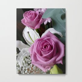 Smell The Roses Metal Print