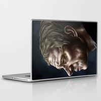 john snow Laptop & iPad Skins featuring John by Cat Allen