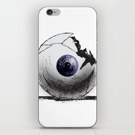 Broken Eye iPhone Skin
