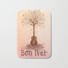 Bon Iver Poster Bath Mat
