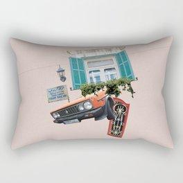 Psychedelic Gemmayzeh - Beirut  Rectangular Pillow