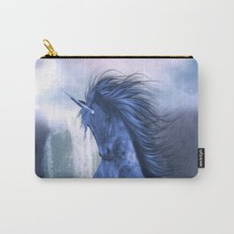 Blue Unicorn 1 Carry-All Pouch