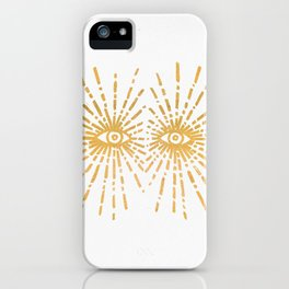 Starry Eyed iPhone Case