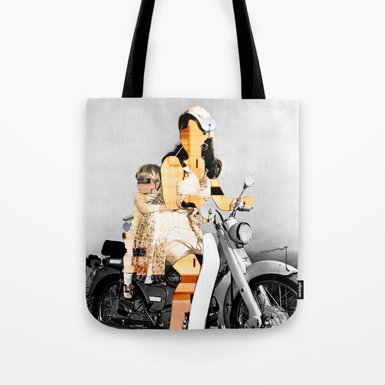 CardinalsRoller Collage Tote Bag