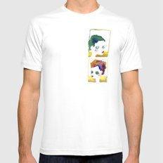 no name but a frame MEDIUM Mens Fitted Tee White