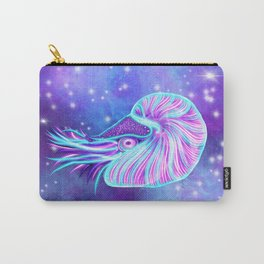 The Celestial Chambered Nautilus Carry-All Pouch