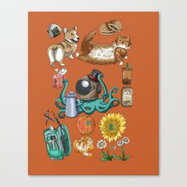 Hodgepodge Canvas Print