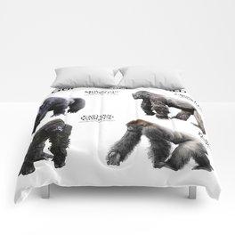 Gorillas of the World Comforters