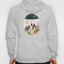 living on the moon Hoody