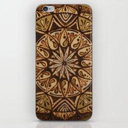 Pirography iPhone Skin