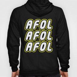 AFOL AFOL AFOL [ADULT FAN OF LEGO] in Brick Font by Chillee Wilson Hoody