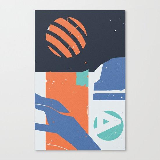 Terglitoj Canvas Print