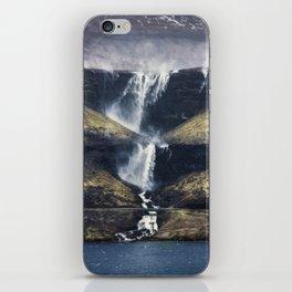 Fossá vertical iPhone Skin