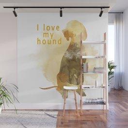 Hound Wall Mural