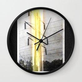 Tower Series: 2018_03 Wall Clock
