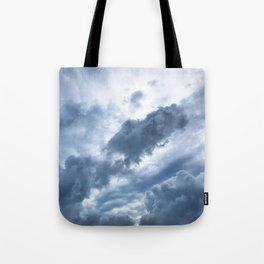 Troubled Skies Tote Bag