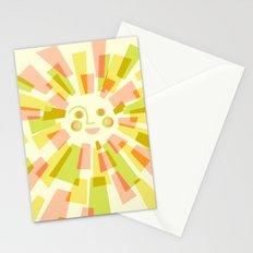 Sunburst Warm Stationery Cards
