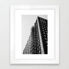 Fire Escape Framed Art Print