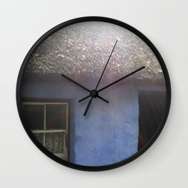 And Then There Was Light Wall Clock