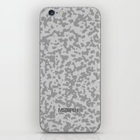 Comp Camouflage / Grey iPhone Skin