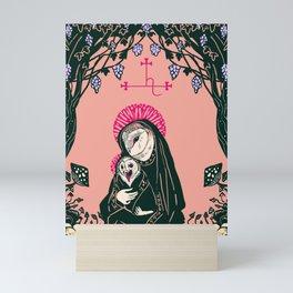Madonna and child Mini Art Print