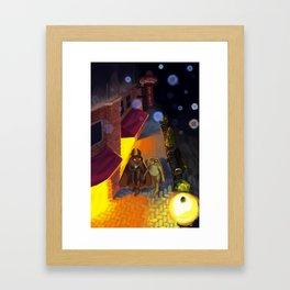 Loveland Date Framed Art Print