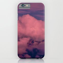Winter Storm Clouds iPhone Case