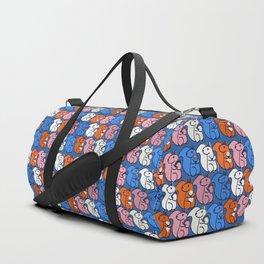 retro squirrels- pattern Duffle Bag