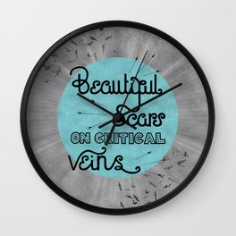 All Time Low - Kids in the dark Wall Clock