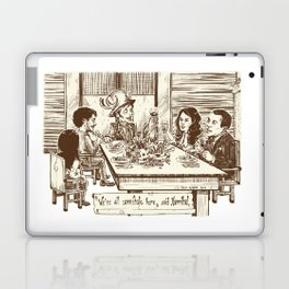 We're all cannibals here Laptop & iPad Skin