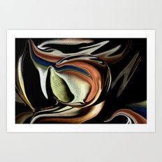IT IS WHAT IT IS!!!!!..ABSTRACT Art Print