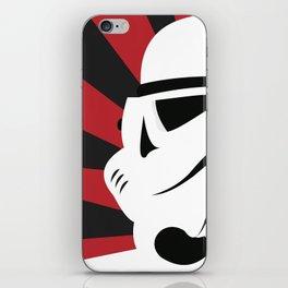 Storm Trooper Portrait iPhone Skin