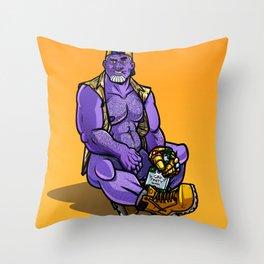 Thanos Throw Pillow