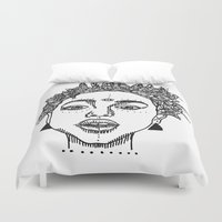 melissa smith Duvet Covers featuring Willow Smith by ☿ cactei ☿