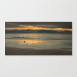 Walking Towards The Light Canvas Print