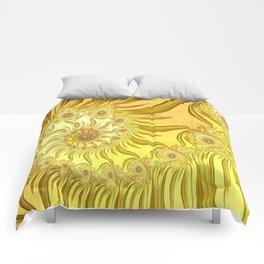 Fractal Van Gogh Comforters