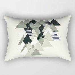 French Alps at Dusk Rectangular Pillow