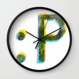 emoticon Wall Clock