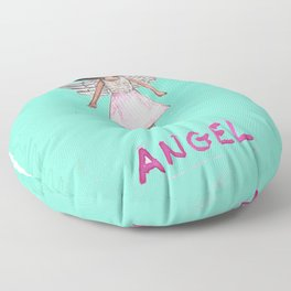 Appealing to your better angels Floor Pillow