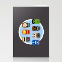 avenger Stationery Cards featuring Pixel Art - Avenger parody by Cloudsfactory