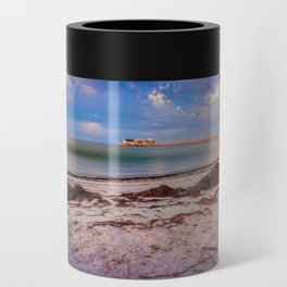 City Pier on Anna Maria Island Can Cooler