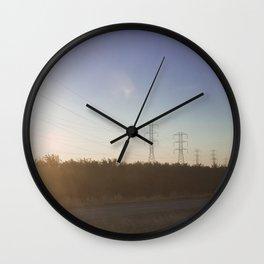 Interstate-5 I Wall Clock
