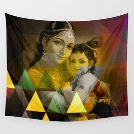 Yashoda's kanha Wall Tapestry