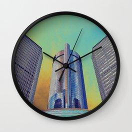 GM - Detroit Wall Clock
