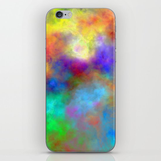 Oh So Colorful iPhone & iPod Skin